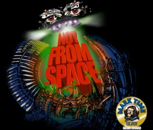 Not from Space Commercial Radio Drama Satire