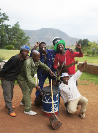 Sotho Sounds Band Lesotho Africa