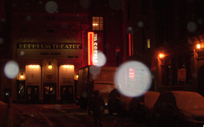 Orpheum Theater in Boston - First Night 2009